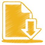 yellow-document-download-icon